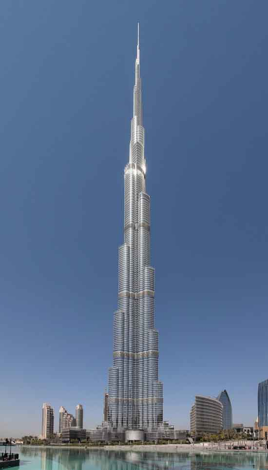 Burj Khalifa - The Tallest Building Of The World