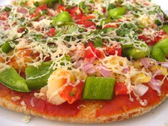 Home Made Pizza - Recipe by Sonia Goyal