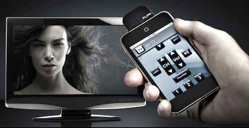smartphone as tv remote control