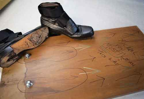 Michael Jackson's Anti Gravity Shoes For Anti Gravity Lean