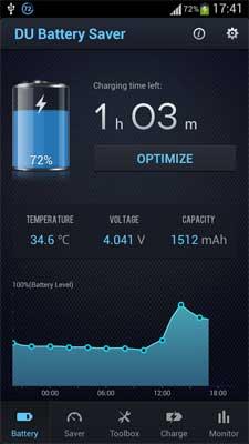 DU Battery Saver App