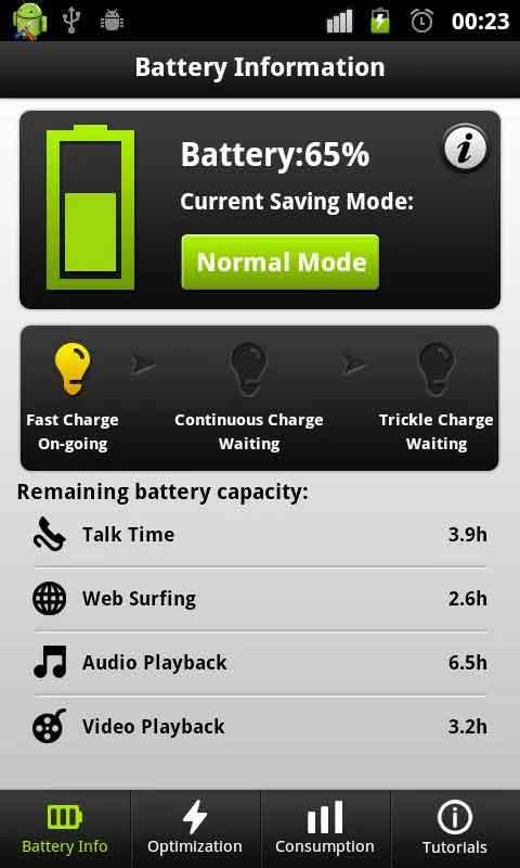 Easy Battery App for saving battery