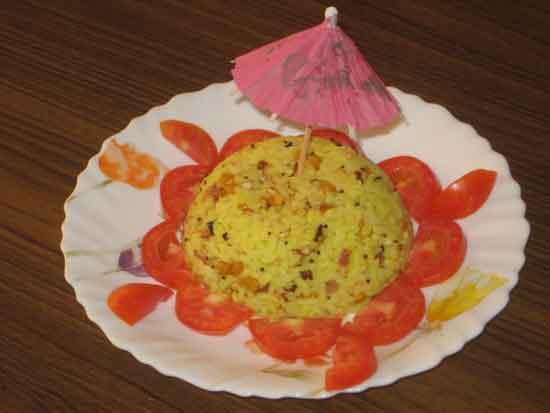 How to make lemon rice at home.