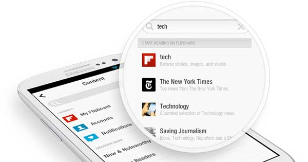 Offline Reading App - Flipboard is good app to read offline