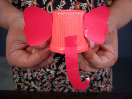 Ganesha Idol Craft How To Make Ganesha Head From Paper Cup