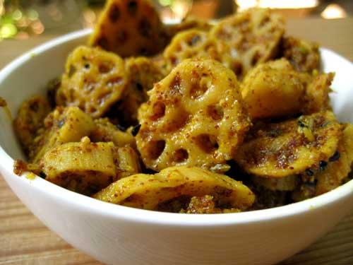 Lotus Stem Pickle Recipe