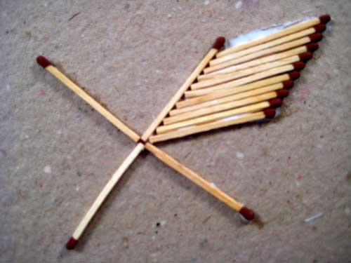 Matchstick Craft Ideas For Kids How To Make Star From Matchsticks