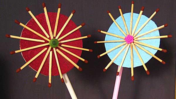 Handmade Flowers How To Make Handmade Flowers From Matchsticks