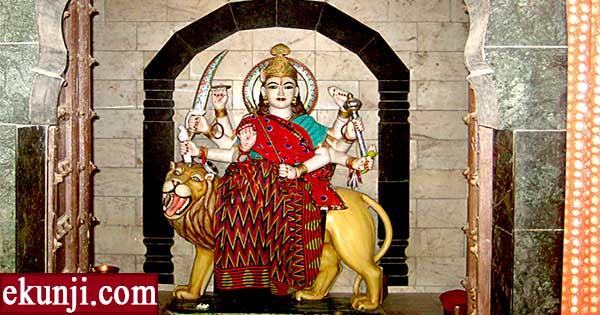 Navratri puja vidhi -Durga puja with Saptashati