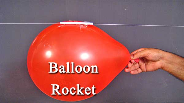 Balloon Rocket For Kids