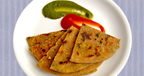 how to make wheat paratha at home in tamil