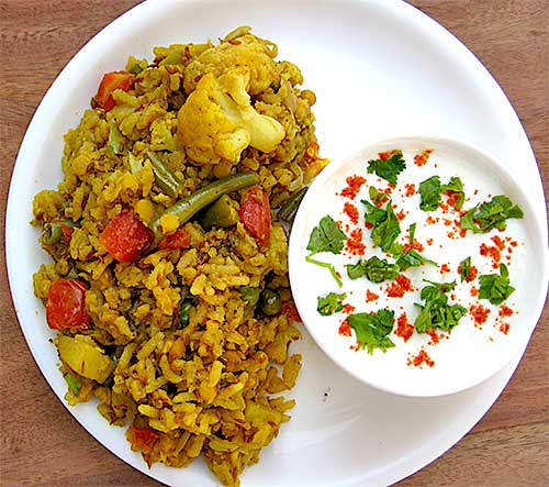 Mix Veg Khichdi Recipe