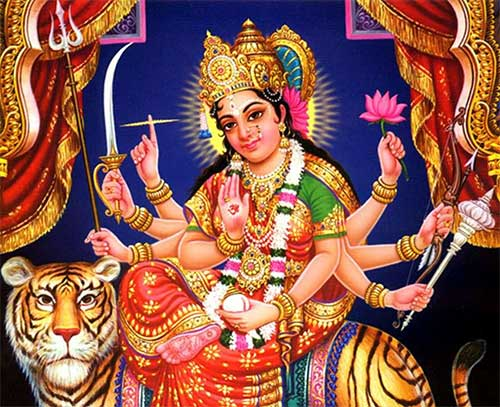Navratri Puja Vidhi - 21 to 28 march 2015 Duga puja bhog samagri