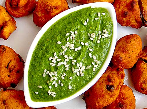 Sesame Seeds and Mint Chutney Recipe