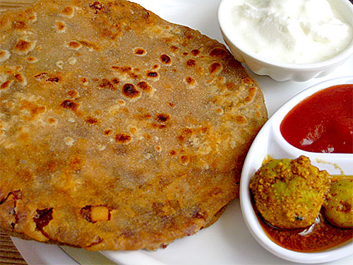 Onion Paratha Recipe with Video