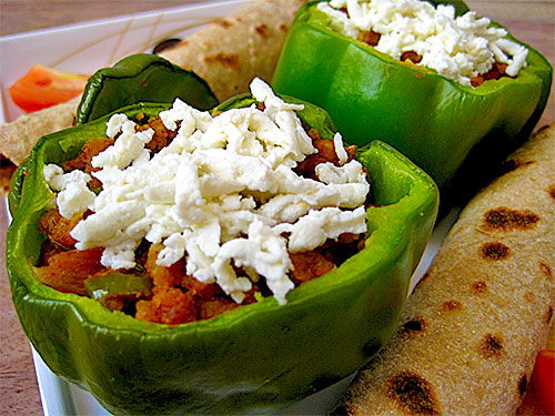 Stuffed Capsicum Recipe with Video