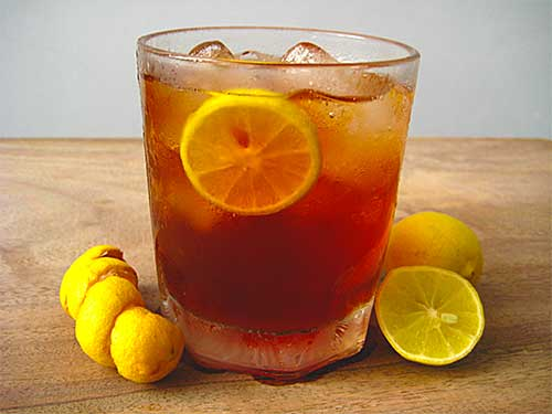 Lemon Iced Tea Recipe with Video