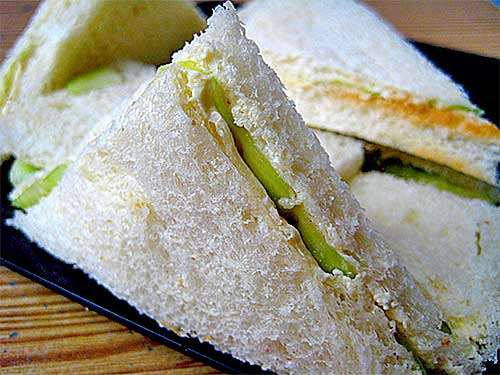 Cucumber Sandwich Recipe with Video from British Cuisine