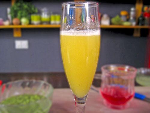 combination of cucumber juice and pineapple juice