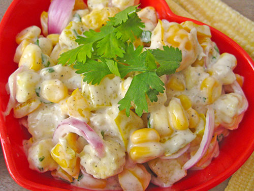 Yellow Delight Salad Recipe