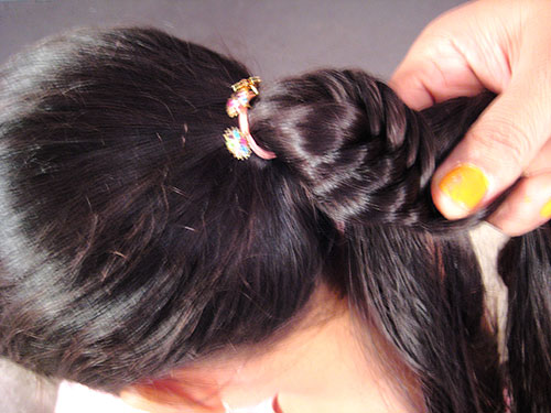 A Diy Tutorial Of Fishtail Braid Hairstyle With Video By