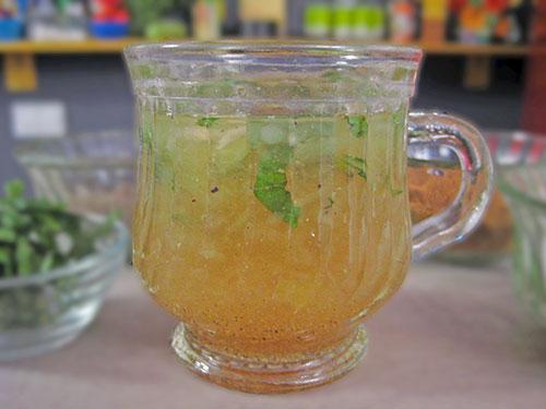 Raw mango water