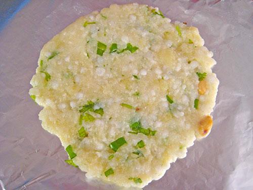 Sabudana Roti Roll