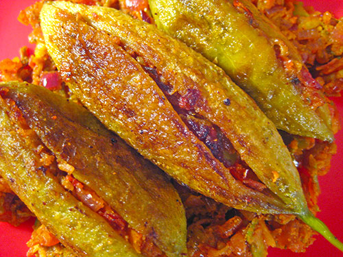 Stuffed karela recipe from indian cuisine with video by sameer goyal forumfinder Image collections