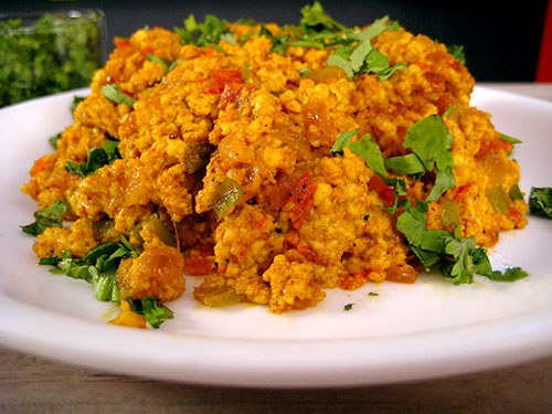 Paneer Bhurji Recipe From Indian Cuisine With Video