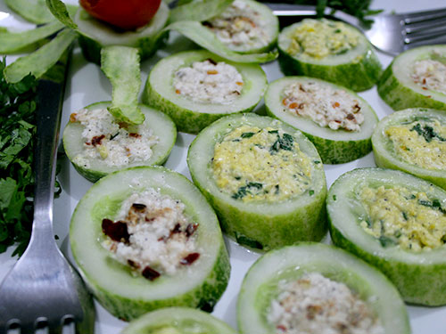 Cheese Cucumber Salad Recipe With Video