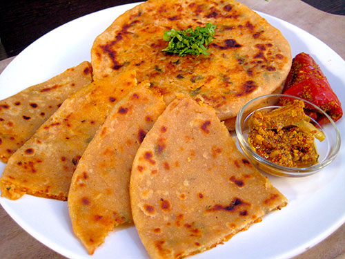 Rice Paratha Recipe With Video