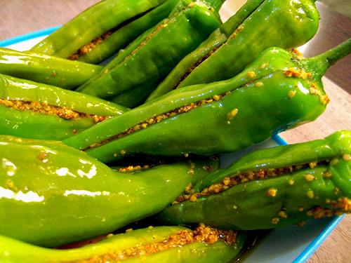 Green Chilli Pickle Recipe From Indian Cuisine